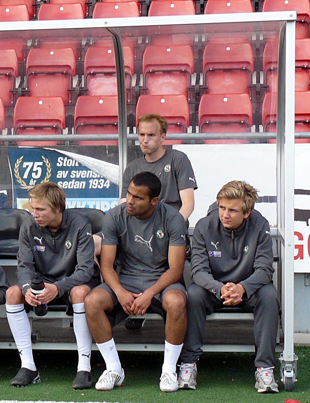 Carvalho på bänken