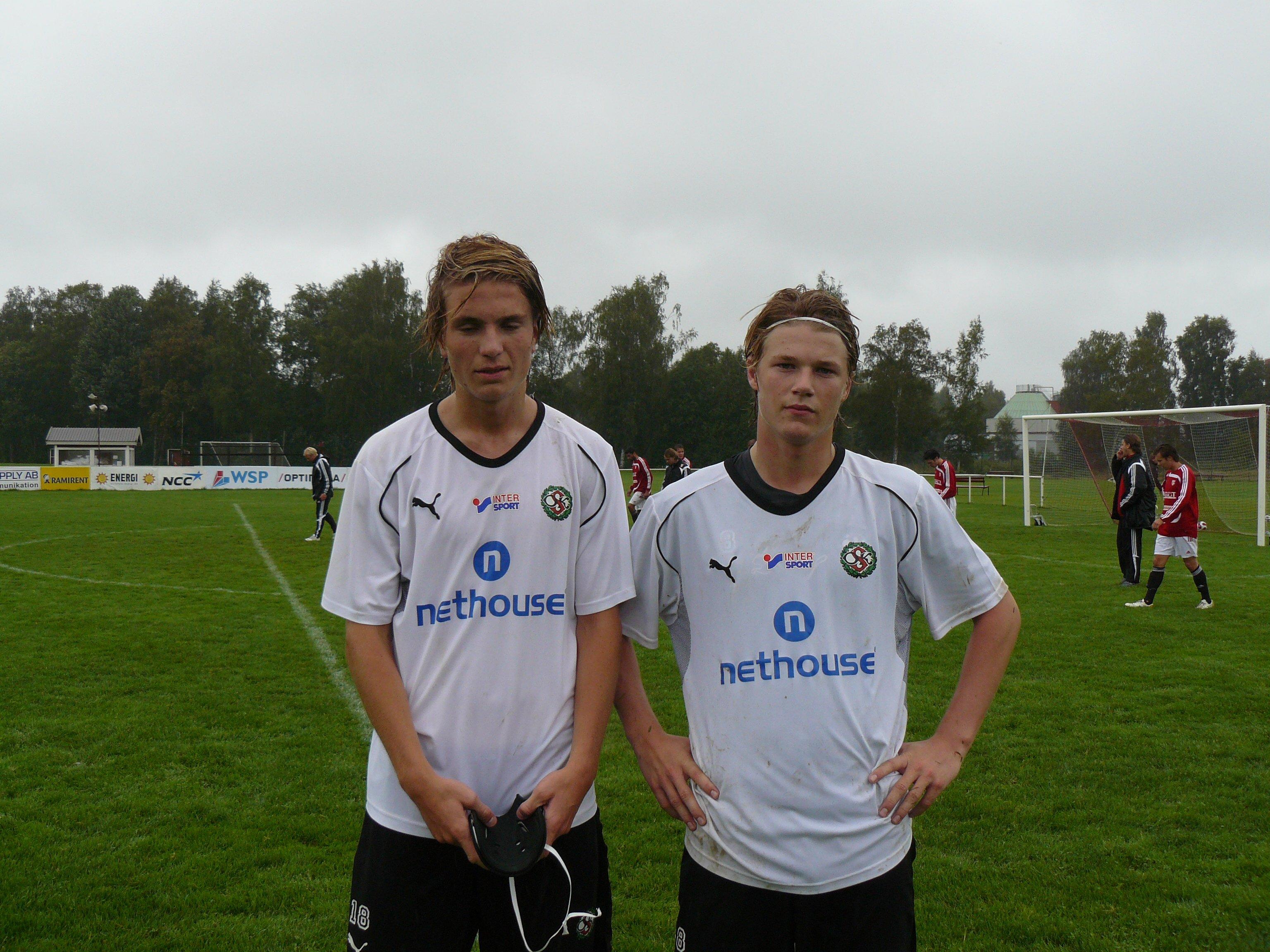 Erik  och Mackan FBK borta 2008